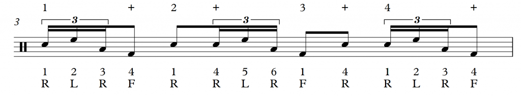 Accessible linear Drum Fills Pt2